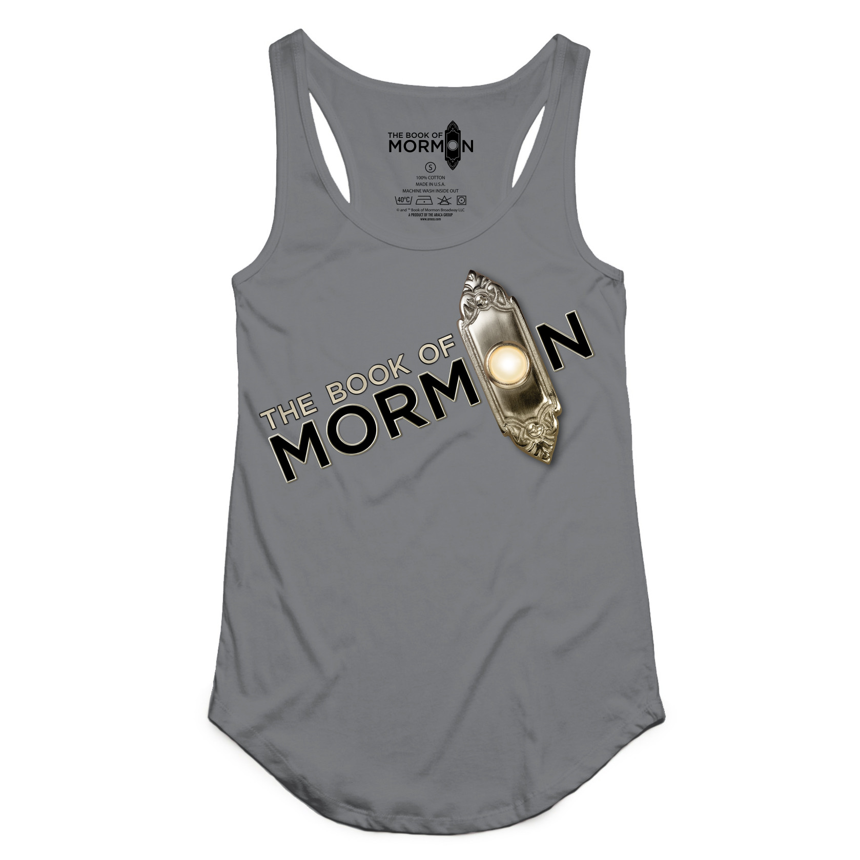 Book of Mormon - Slant Logo Tank
